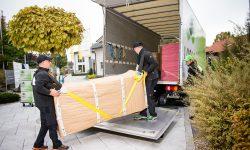 Möbeltransport durch Möbelpacker